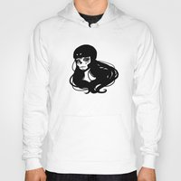 roller derby Hoodies featuring Roller Derby Catrina by Mean Streak