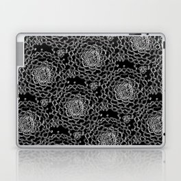 A Crowd of Mums (black   white) Laptop & iPad Skin