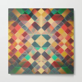 Candy Miracle Tile Metal Print