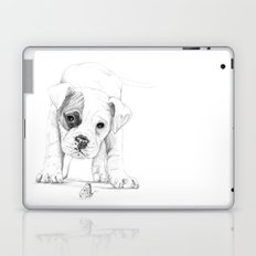Patch, A Boxer Puppy :: Shelter Dog Project Laptop & iPad Skin