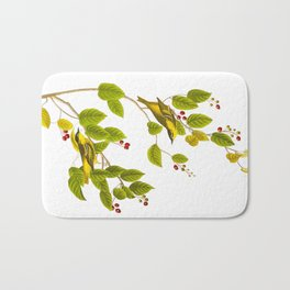 Carbonated Warbler Bird Bath Mat