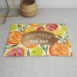 Squeeze the Day – Rose Gold Rug