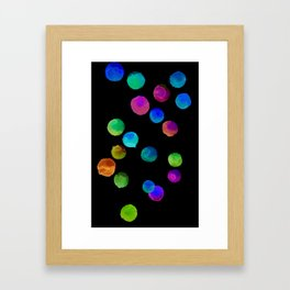 bubbleNYX Framed Art Print