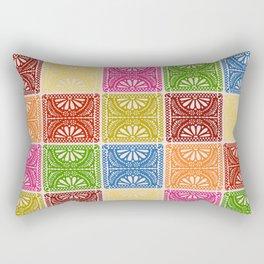 Fiesta Patchwork Rectangular Pillow