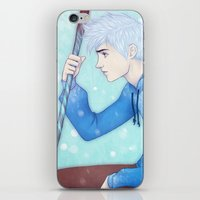 jack frost iPhone & iPod Skins featuring Jack Frost by ribkaDory