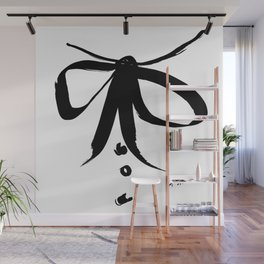 Bow Blouse Wall Mural