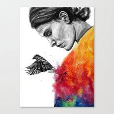 Goodbye depression Canvas Print