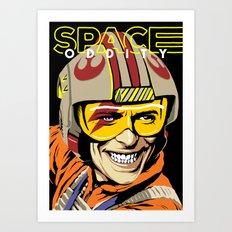 Space Oddity Art Print