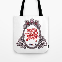 Who is the naughtiest of them all? Tote Bag