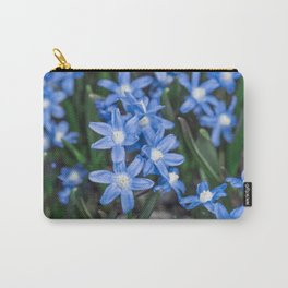 Easter Snow Glories Carry-All Pouch