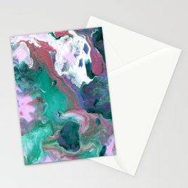 Magic Floral Stationery Cards