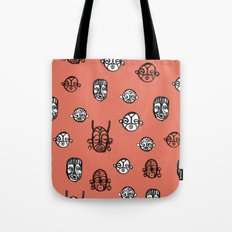masks II Tote Bag