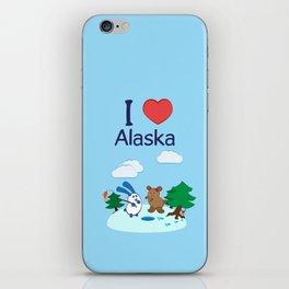 Ernest and Coraline | I love Alaska iPhone Skin
