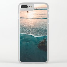 Heavenly View Clear iPhone Case
