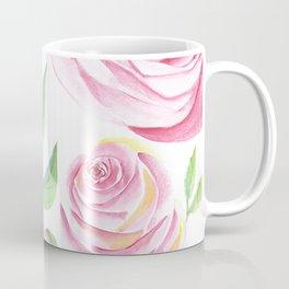 Roses Water Collage Coffee Mug