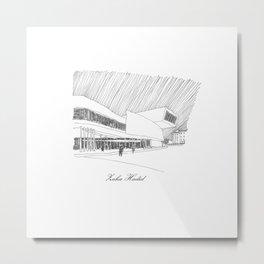 Zaha Hadid Metal Print