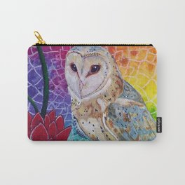 Lakshmi's Vahana ( Bird Whisperer Project Owl ) Carry-All Pouch