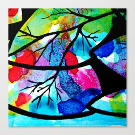 Celebration of life. The harmony of the universe. Canvas Print