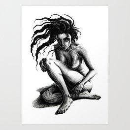 """""""Hair Roots"""" Art Print"""