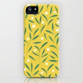 Cut Up Tulips iPhone Case