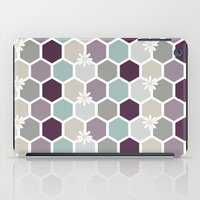 honeycomb iPad Cases featuring Honeycomb by Kathrin Legg