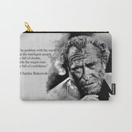 BUKOWSKI - people quote Carry-All Pouch