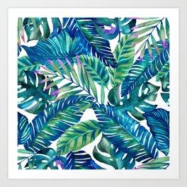 green Tropicana  Art Print