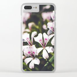 Field of Flowers 11 Clear iPhone Case