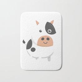 Adorable Cow & Cute Baby Calf Bath Mat