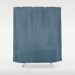 Blue Indigo Denim Shower Curtain