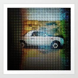 The Classic Car Series  Art Print