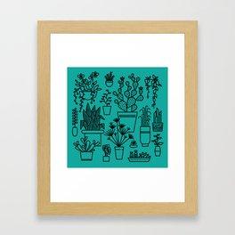 Botanical Sunroom Framed Art Print