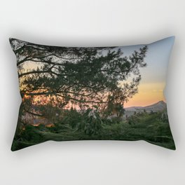 Sunset in Idaho Rectangular Pillow