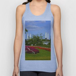 Battersea Power Station and Battersea Park Unisex Tank Top