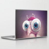 karu kara Laptop & iPad Skins featuring Beanie by Dr. Lukas Brezak