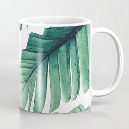 Tropical Banana Leaves Dream #3 #foliage #decor #art #society6 Coffee Mug
