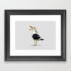Seagurl Framed Art Print
