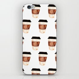 Coffee and Hustle on the Go iPhone Skin