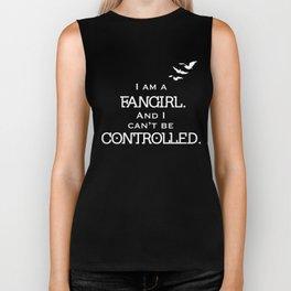 Uncontrollable Fangirl Biker Tank