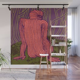 Thinking Creature Wall Mural