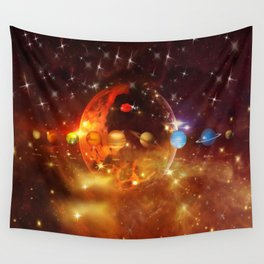 Cosmos Wall Tapestry
