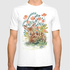 In the grass Mens Fitted Tee White MEDIUM