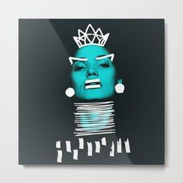 Who's Queen? Metal Print