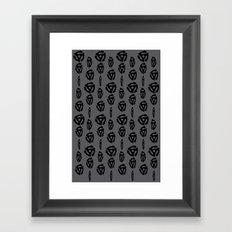 Spinning 45's Framed Art Print