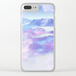 Dreaming landscape Clear iPhone Case