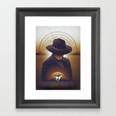 Westworld Poster Print Framed Art Print