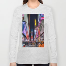 Times Square New York Long Sleeve T-shirt