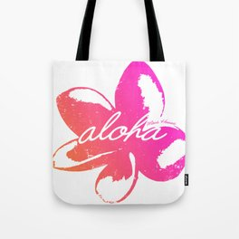 Aloha Plumeria from Maui, Hawaii! Tote Bag