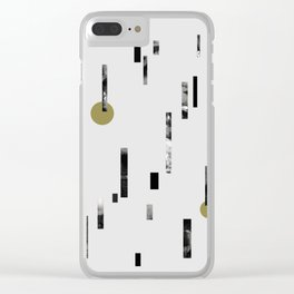 Minimalism 28 Clear iPhone Case
