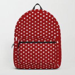 White stars pattern Backpack